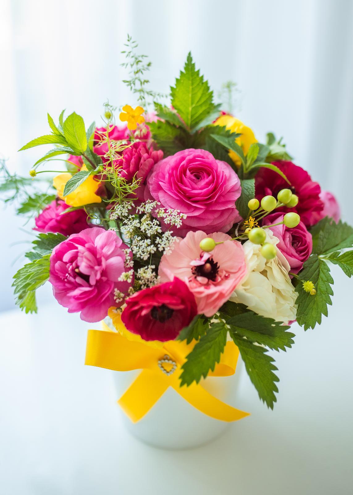 Moje kvetinové aranžmány - Obrázok č. 12