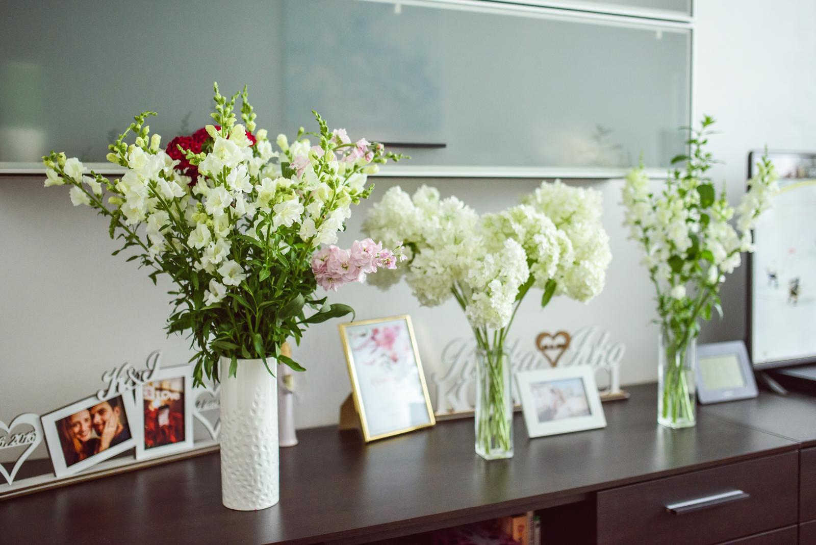 Moje kvetinové aranžmány - Obrázok č. 4