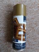 Zlatý dekorativní lak ve spreji,