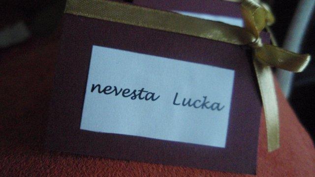 Lucka a Miško /29.8.2009/ - a na stole boli taketo