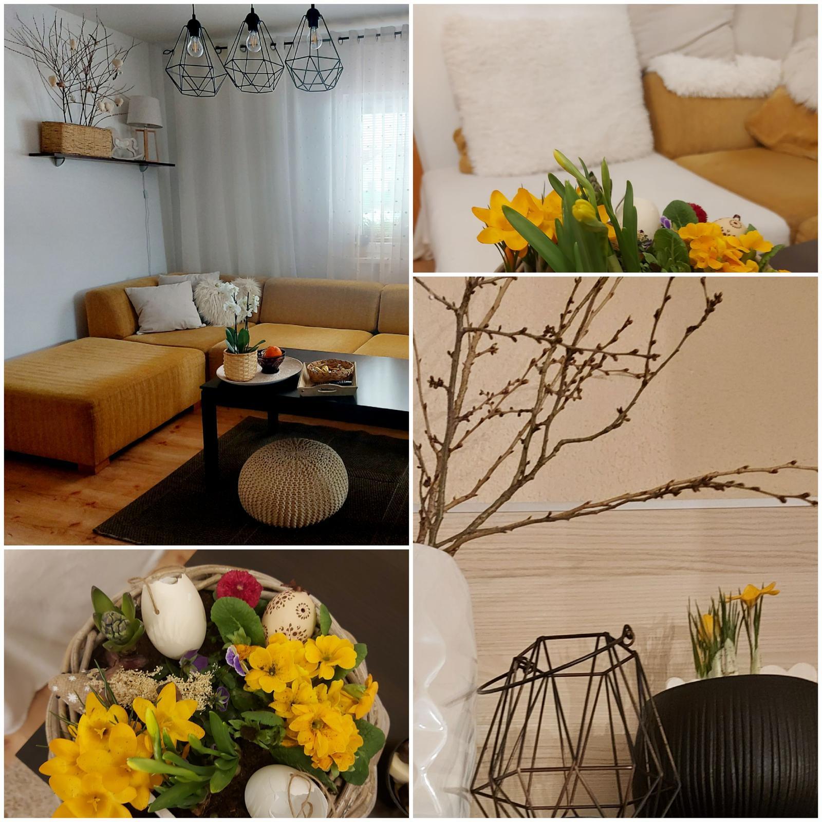 Moje radosti🌺 - Jar v obývačke