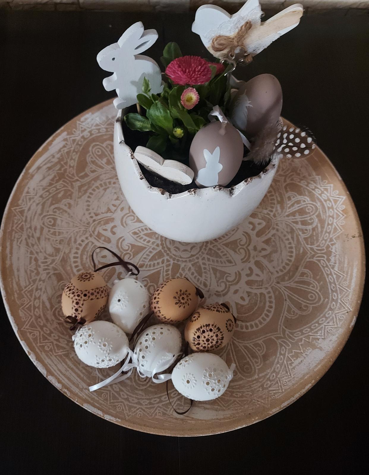 Moje radosti🌺 - Veľkonočná dekorka na stôl