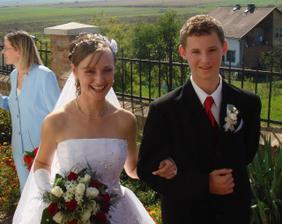 Pred svadbou!