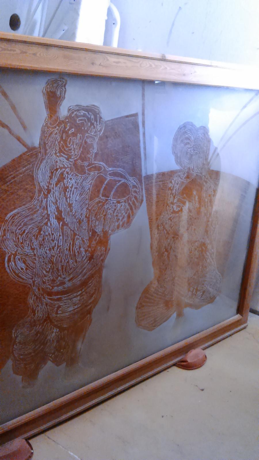 obraz so sklom - Obrázok č. 1