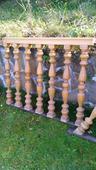 drevené zábradlie na schody,