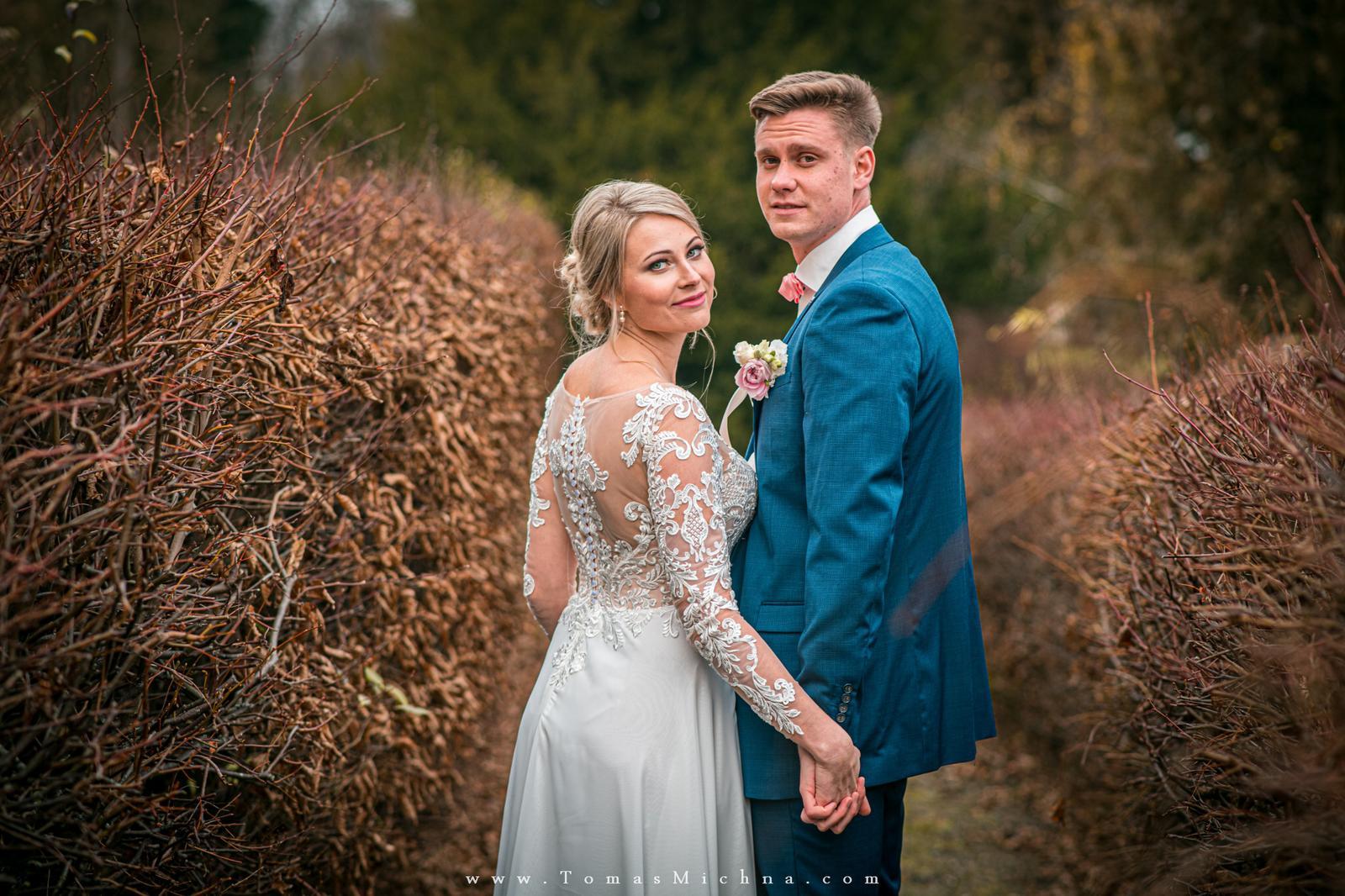 Zimní svatba na zámku Náměšť na Hané ♥ Martina & Petr ♥ 21.12.2019 - Obrázok č. 3