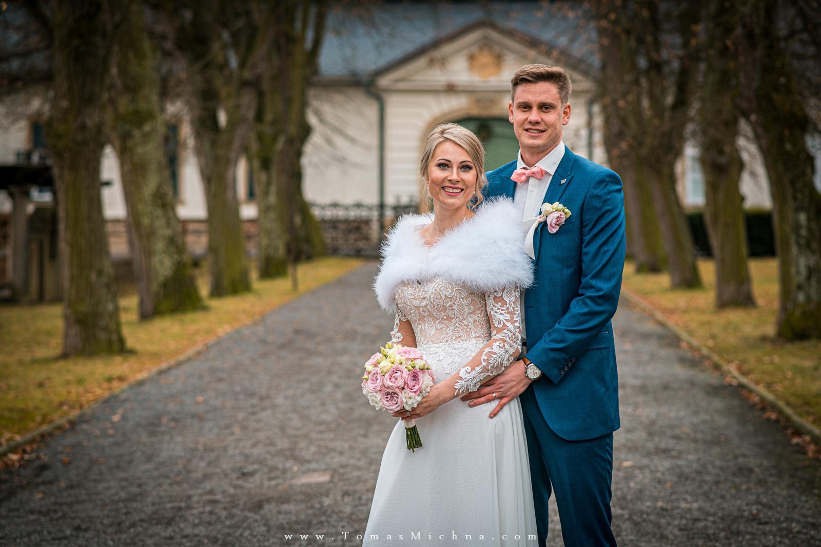 Zimní svatba na zámku Náměšť na Hané ♥ Martina & Petr ♥ 21.12.2019 - Obrázok č. 4