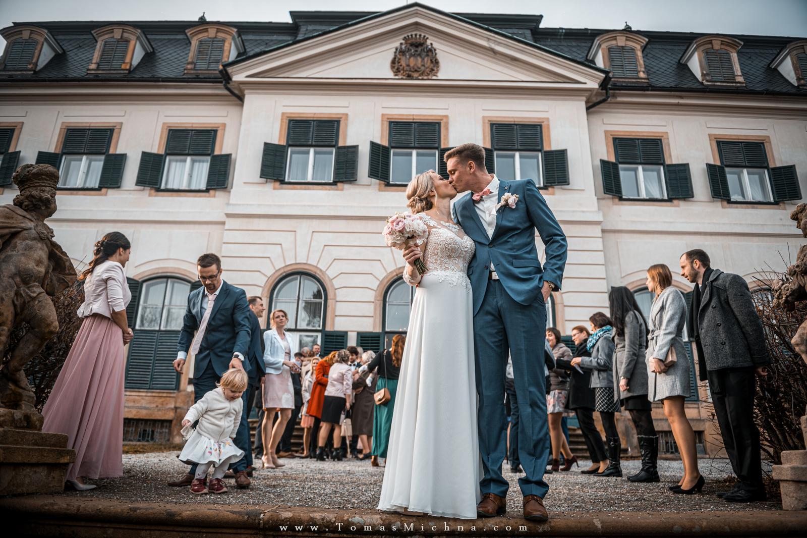 Zimní svatba na zámku Náměšť na Hané ♥ Martina & Petr ♥ 21.12.2019 - Obrázok č. 8