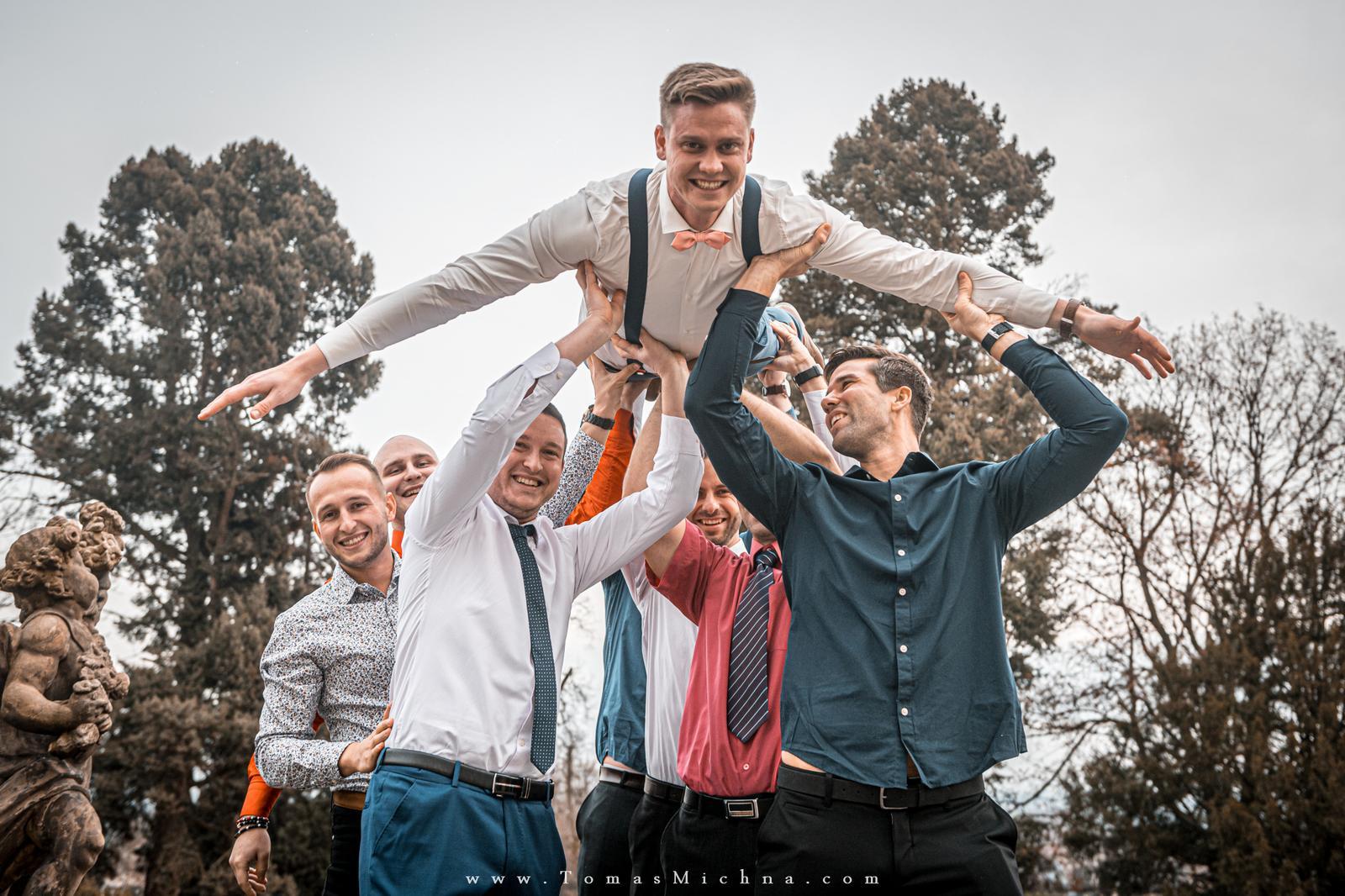 Zimní svatba na zámku Náměšť na Hané ♥ Martina & Petr ♥ 21.12.2019 - Obrázok č. 10