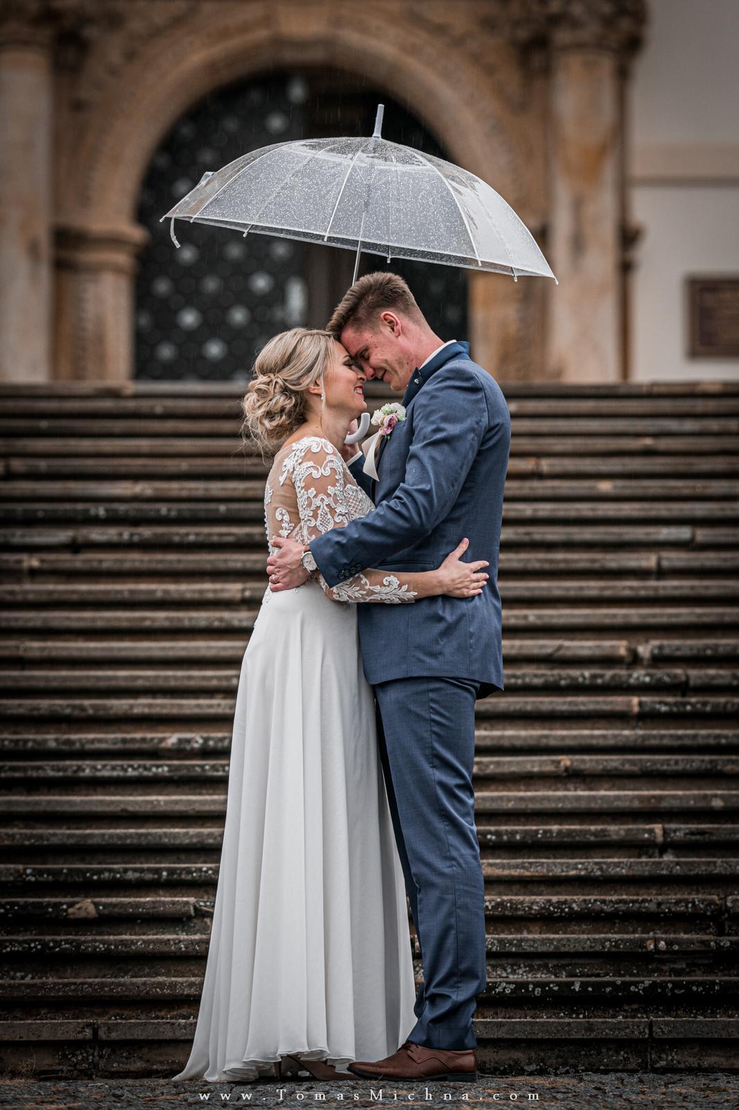 Zimní svatba na zámku Náměšť na Hané ♥ Martina & Petr ♥ 21.12.2019 - Obrázok č. 11