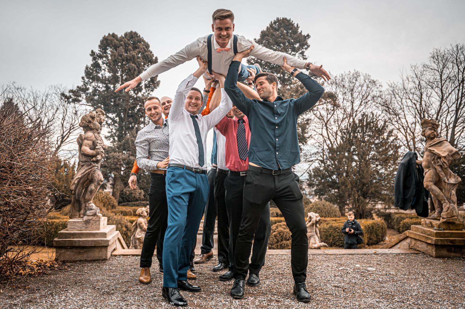 Zimní svatba na zámku Náměšť na Hané ♥ Martina & Petr ♥ 21.12.2019 - Obrázok č. 12