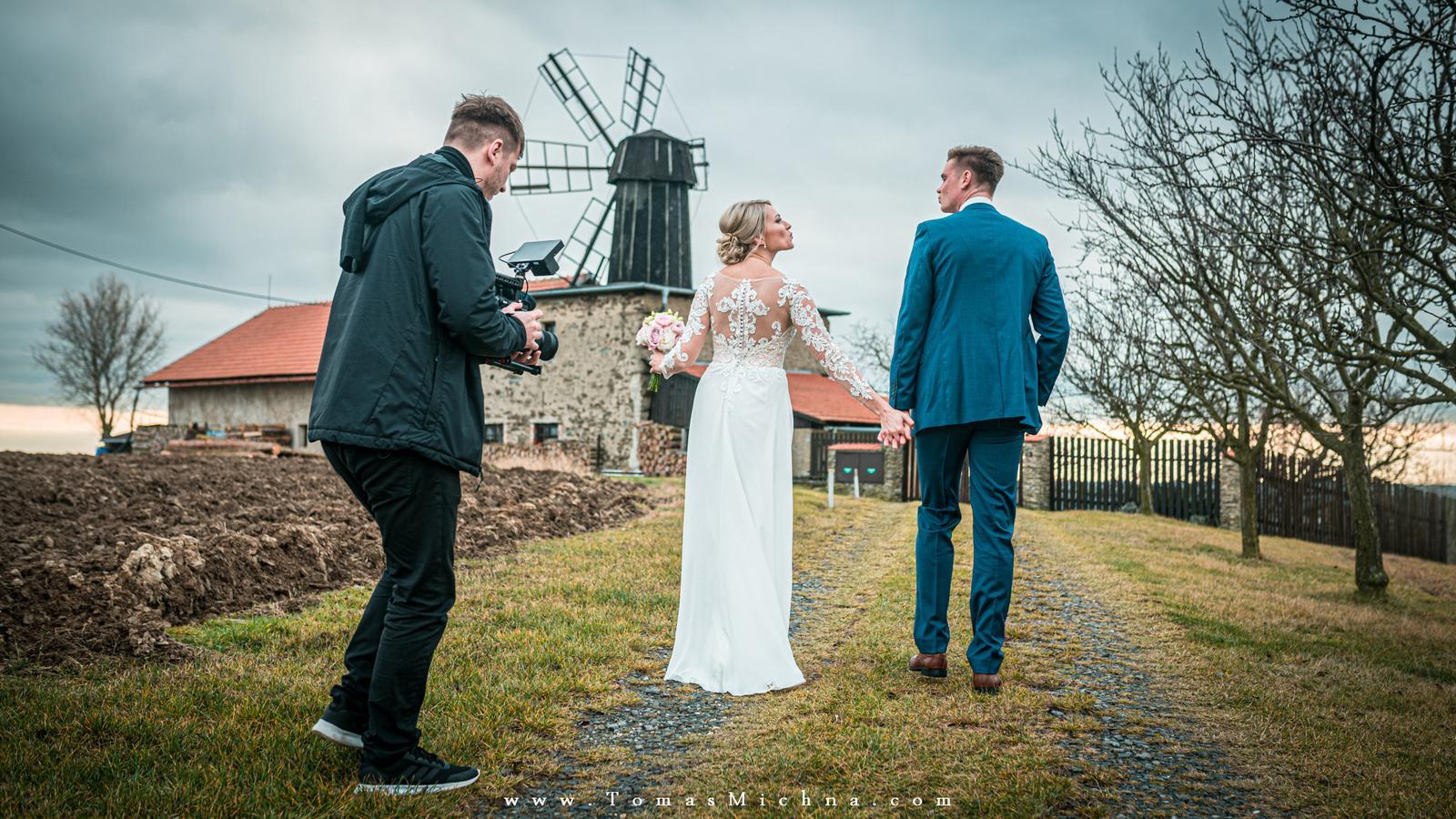Zimní svatba na zámku Náměšť na Hané ♥ Martina & Petr ♥ 21.12.2019 - Obrázok č. 15