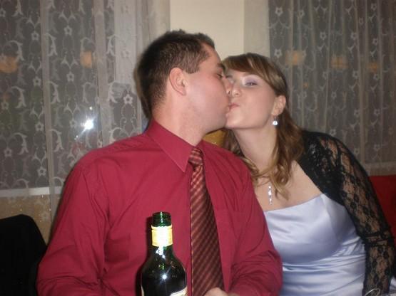 Ajenka a Baďo - nasa velickost na plese :)