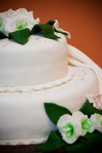 Nasa svadobna torta...nielenze bola krasna ale aj velmi dobre chutila :)