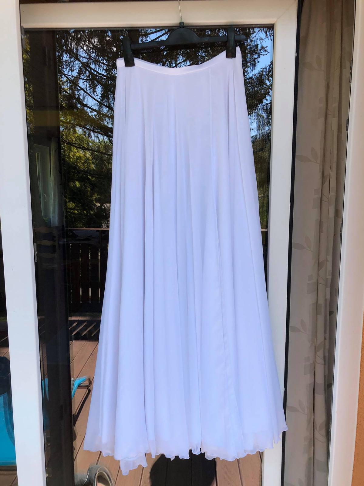Svatební sukně bílá - Obrázek č. 2
