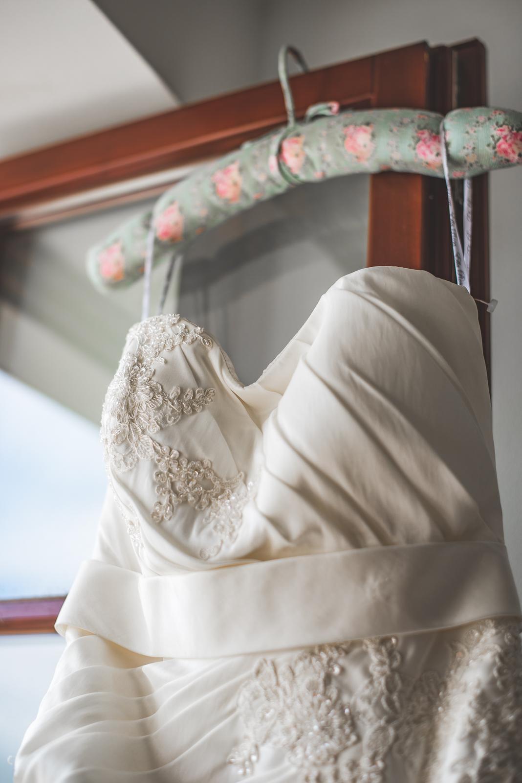 Krásne svadobné šaty z Anglicka; 36-38 Ivory - Obrázok č. 4