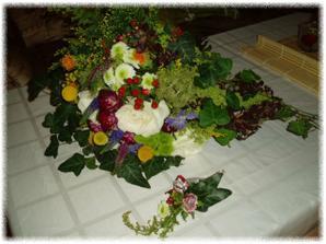 moje kytí a korzáž