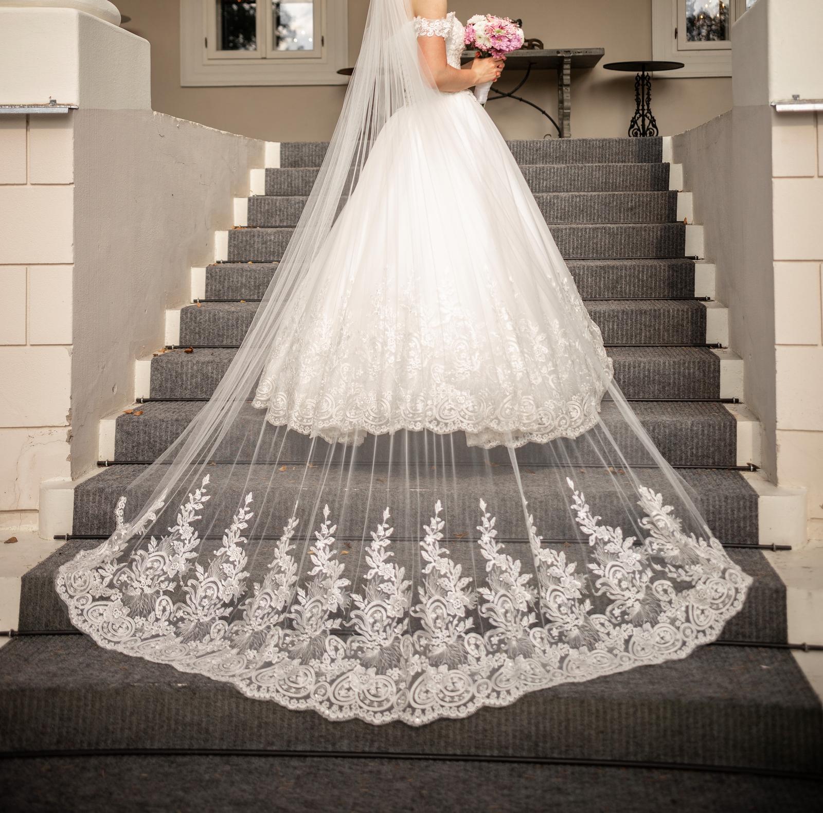 Nádherné svadobné šaty - Obrázok č. 1