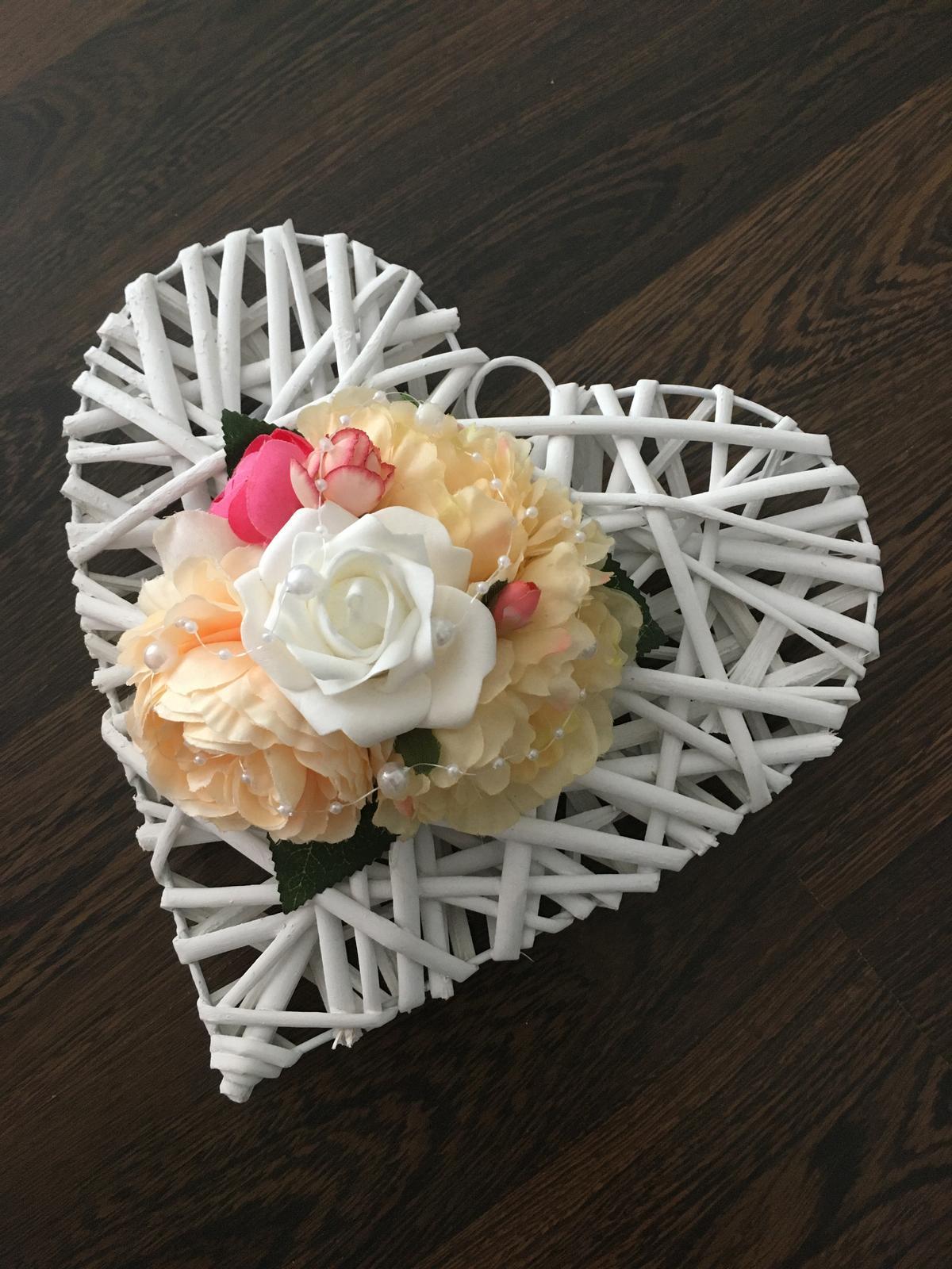 Svadobné srdce - Obrázok č. 1