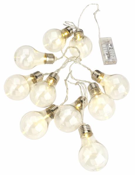 Světýlka, žárovky - 3 balení - světelný řetěz - Obrázek č. 2