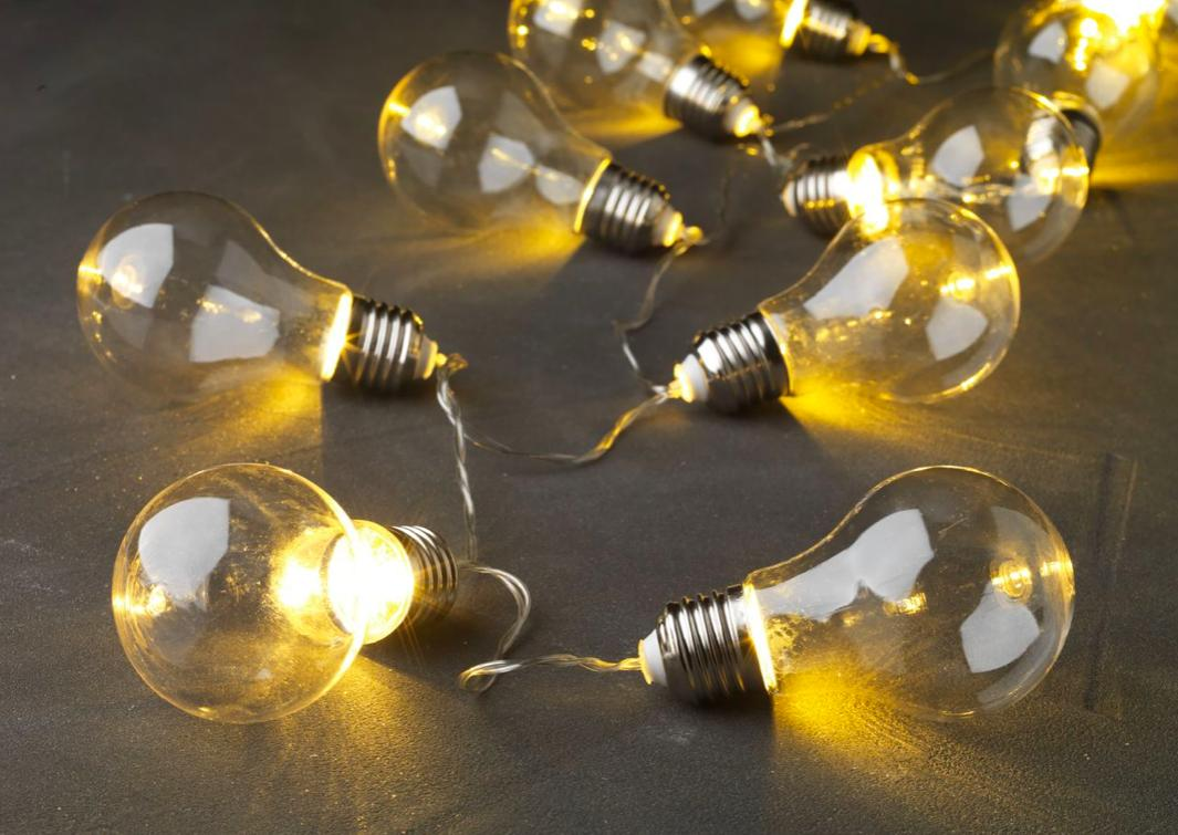 Světýlka, žárovky - 3 balení - světelný řetěz - Obrázek č. 1