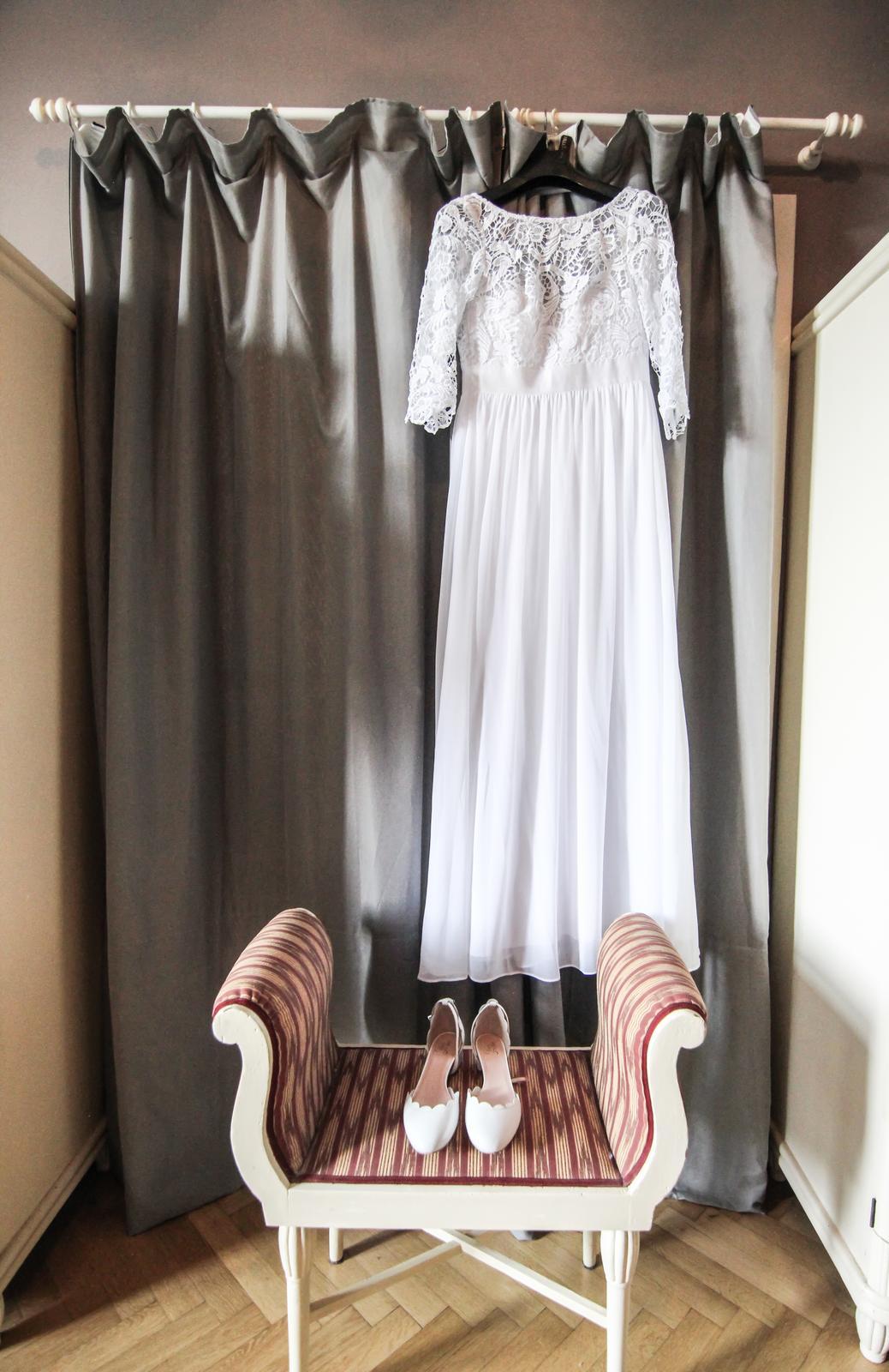 Svatební boho šaty - Obrázek č. 4