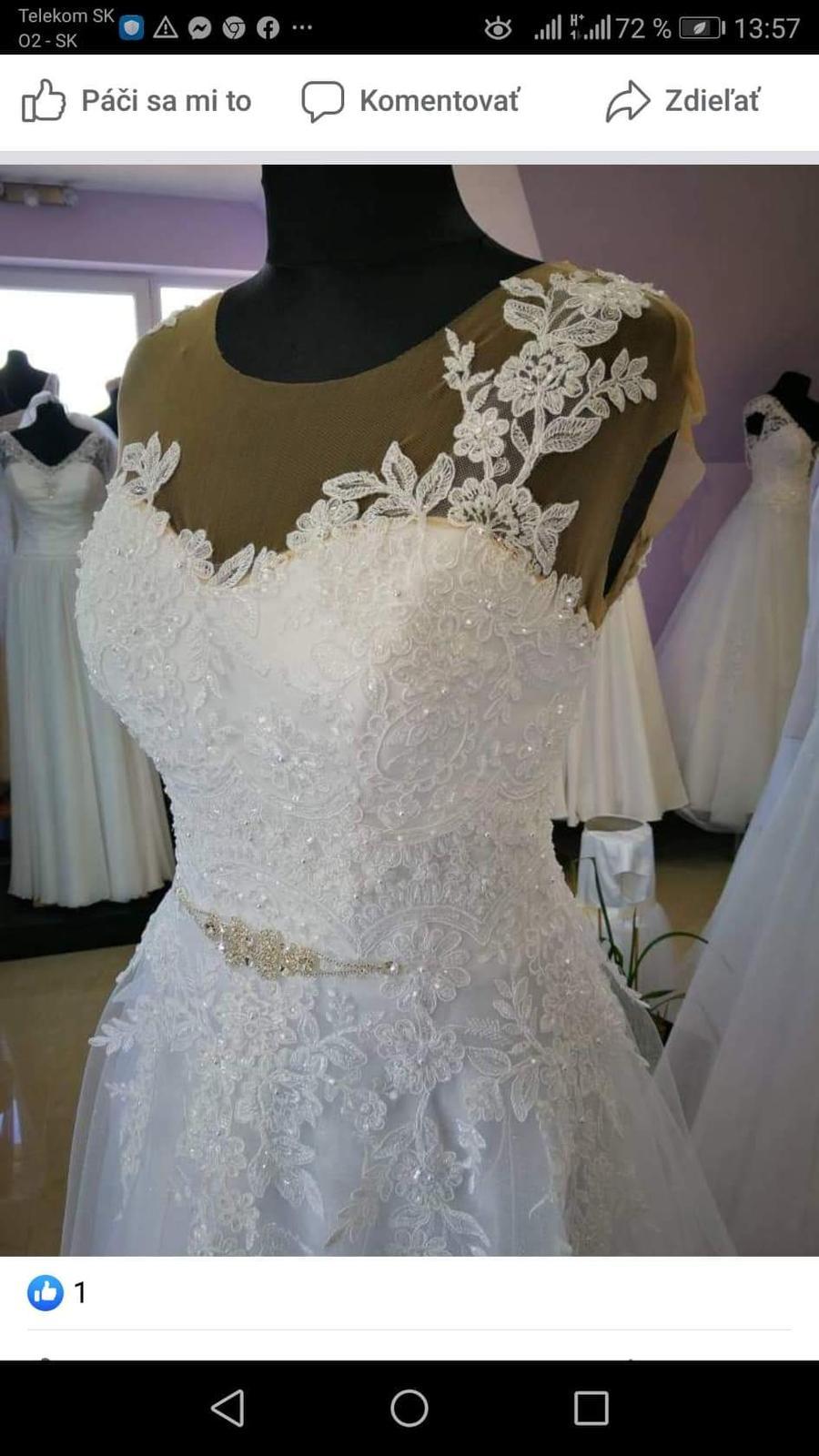Svadobné šaty - kolekcia 2020 - Obrázok č. 2
