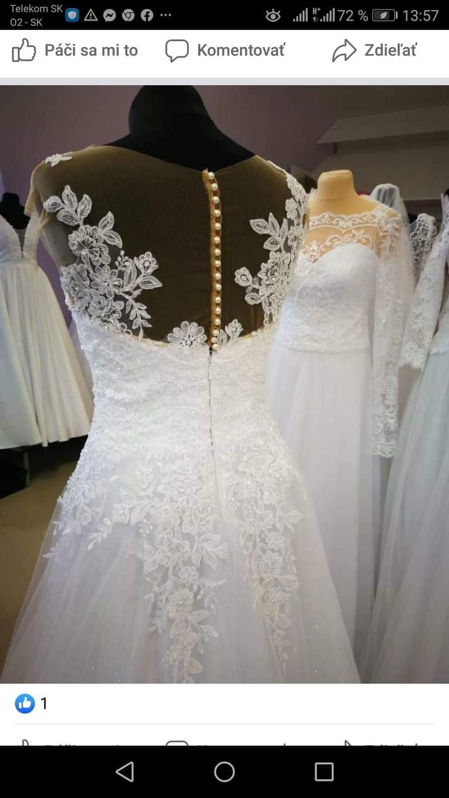 Svadobné šaty - kolekcia 2020 - Obrázok č. 3