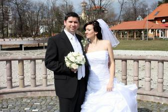 naše prvé svadobné foto