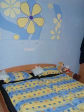 hurá, konečně normálně široká postel (původní byla 140cm)