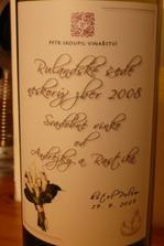 svadobné vínko etiketa