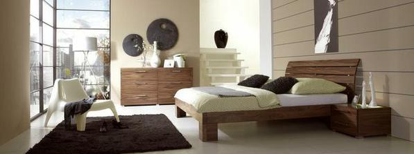 tuto postel a noční stolky jsme vybrali