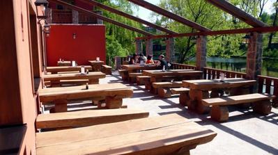 Restaurace Sauna, terasa