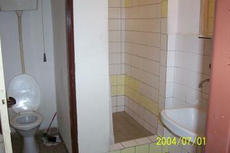 luxusní koupelnička s toaletou