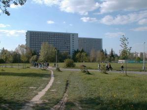 Úplně první společné bydlení, VŠ koleje v Ostravě-Porubě; ach jo, dávno tomu