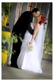 Svatební šaty podle vzoru Pronovias Roble (40/42), 42