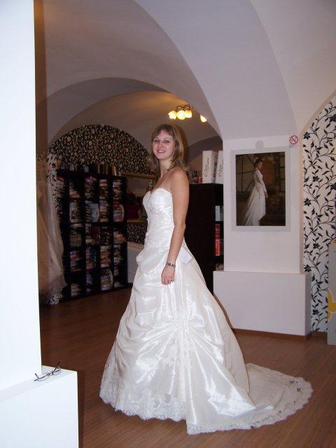 Predsvadobné prípravy - Pavel & Jana - Pre tieto šaty som sa nakoniec rozhodla :)