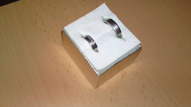 Predsvadobné prípravy - Pavel & Jana - naše snubné prstene