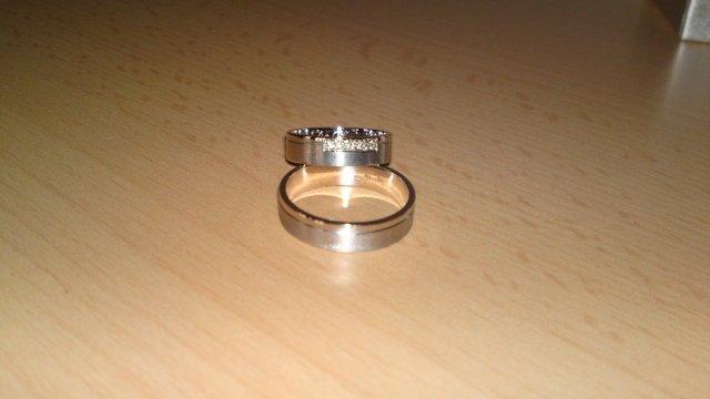Predsvadobné prípravy - Pavel & Jana - ...a ešte raz prstene :)