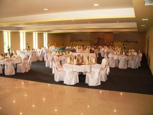 V tejto krásnej sále v hoteli Čingov sa bude konať svadobná hostina