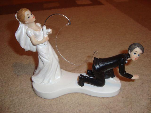 14.máj 2011 Naša Svadba - Na tortičku :))) ako som si ulovila môjho rybára...