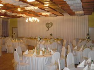 Svadobná hostina v Gastomile- toto sa mi veľmi páči