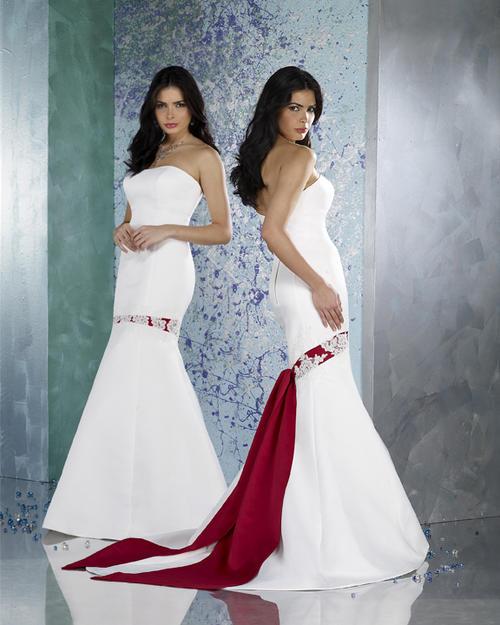 Krááásne červeno-biele šaty - Obrázok č. 11
