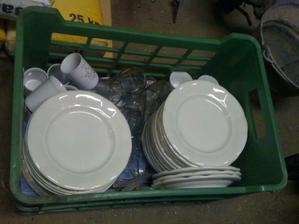 taniere, poháre a štamprliky po mojej starenke....