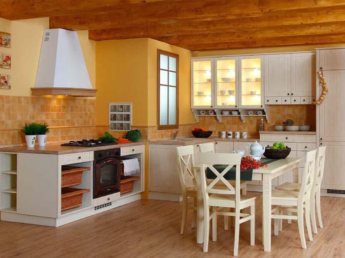 Inšpiracie do našho pidi domčeka x-) - kuchynka aj strop x-)