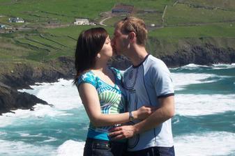 Romantika nad oceanom - 2 roky v Irl nas utvrdili v tom, ze patrime k sebe :)