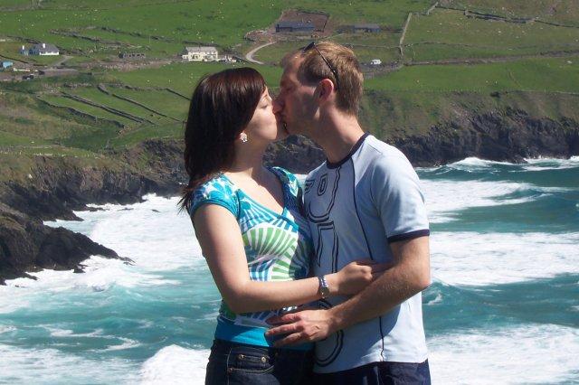 Naše prípravy - Romantika nad oceanom - 2 roky v Irl nas utvrdili v tom, ze patrime k sebe :)
