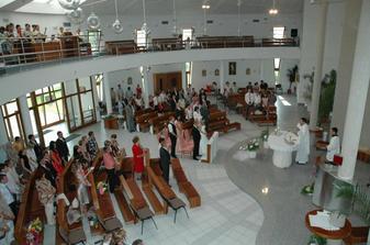 Kostol 7bolestnej Panny Marie - interier