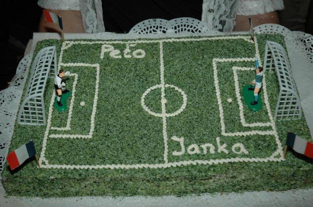 Naše prípravy - Dalsia futbalisticka torta :)