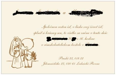 Veronika a Peťko - Tieto sa nám veľmi páčia a aj nie sú drahé... :o))